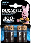 Duracell Батарейка UltraPower AA 4 шт