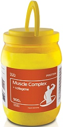 "bbb Протеин ""Muscle Protein Complex + collagen"" ваниль 900 г"