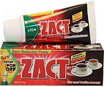 Lion Thailand Зубная паста Zact Smoker and Tea 190 г