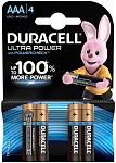 Duracell Батарейка UltraPower AAА 4 шт