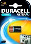 Duracell Батарейка Photo Ultra  M3 123