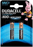 Duracell Батарейка UltraPower AAA 2 шт