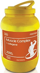 "bbb Протеин ""Muscle Protein Complex + collagen"" банан 2000 г"