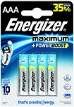 Energizer Maximum Батарейка алкалиновая мизинчиковая LR03/E92 тип ААА 4 шт