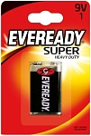Energizer Батарейка солевая Eveready Super Heavy Duty 9V 1 шт