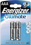 Energizer Maximum Батарейка алкалиновая мизинчиковая LR03/E92 тип ААА 2 шт