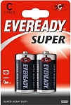 Energizer Батарейка Eveready Super Heavy Duty C/R14 2 шт