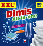 DIMIS ALL IN ONE. 90 таблеток для ПММ